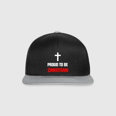 Religion Proud to be christian - Snapback Cap