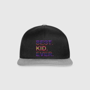 Best.Kid.Ever.Motivational Gifts for Kids.Best Kid - Snapback-caps