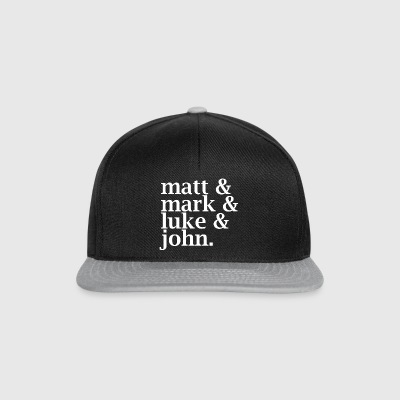 Matt, Mark, Luke & John - Snapback Cap