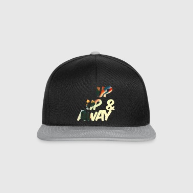up up and away - Snapback cap