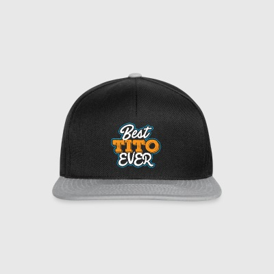 Best Tito Ever Gift Rock Band Music Sound - Snapback Cap
