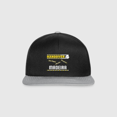 Hangover Party Madeira Portugal Reise - Snapback Cap