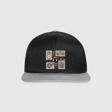 DJ Turntable set - Snapback Cap