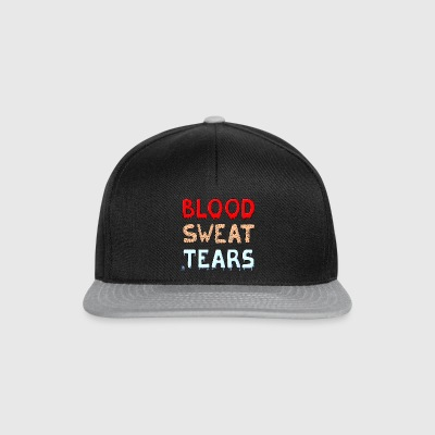 Blood Sweat Tears - Snapback Cap