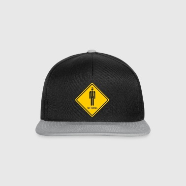Attention nerds - Snapback Cap