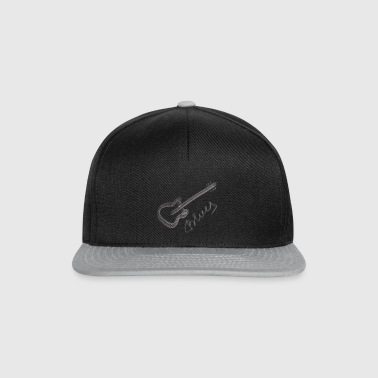 Blues weiß - Snapback Cap