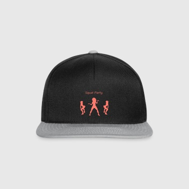 Squat party coral - Snapback Cap
