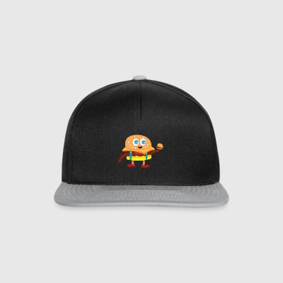 Cute Burger - Snapback Cap