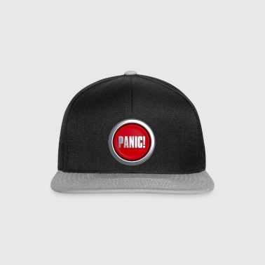 Panic Button - Snapback Cap