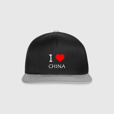 J'aime CHINA - Casquette snapback