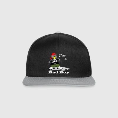 Bad Boy Penguin - Snapback Cap