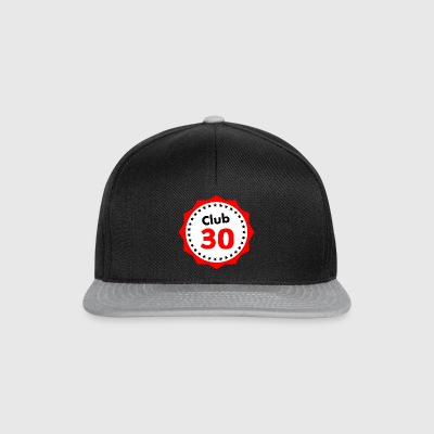 Club 30, gift for 30 year olds - Snapback Cap