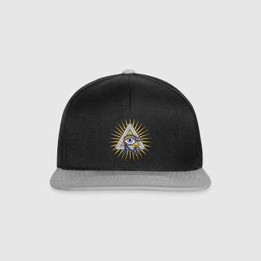 Eye and Triangle - Snapback Cap