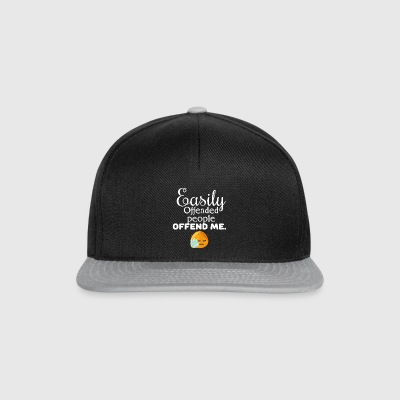 Easily offended - Snapback Cap