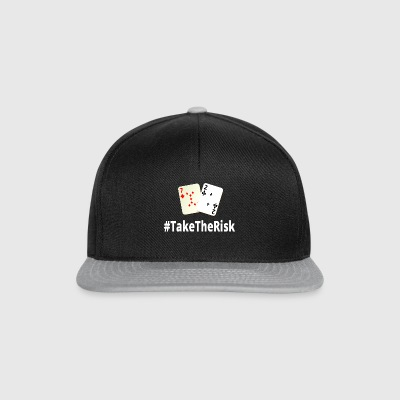 Take The Poker Rischio 72o - Snapback Cap