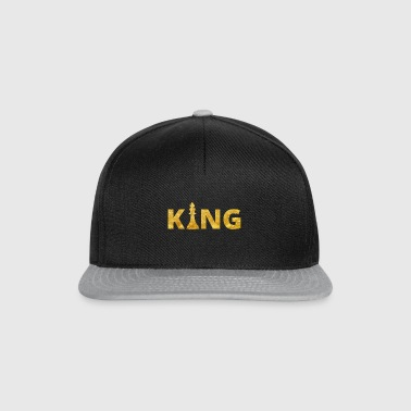Chess King Chess King Gold - Snapback Cap