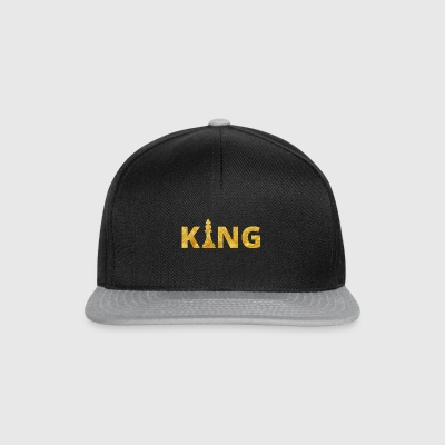 Schach Koenig Chess King Gold - Snapback Cap