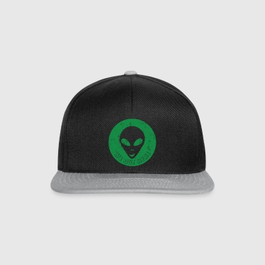 Alien / Zone 51 / UFO: We Out Here - AlienHead - Casquette snapback
