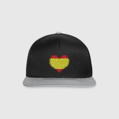 I love Spain - heart spanish pride home - Snapback Cap