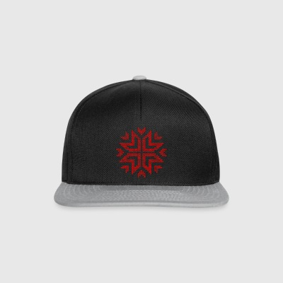 Weihnachtsstern gestrickt ugly christmas Sweater - Snapback Cap