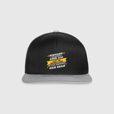 City and regional planner profession gift - Snapback Cap