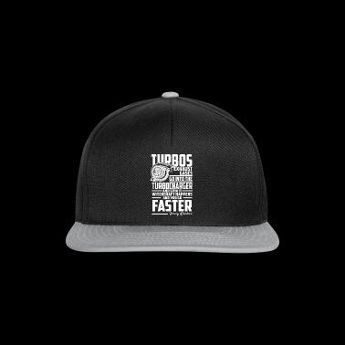 Funny Turbo Shirt for Petrolheads - Snapback Cap