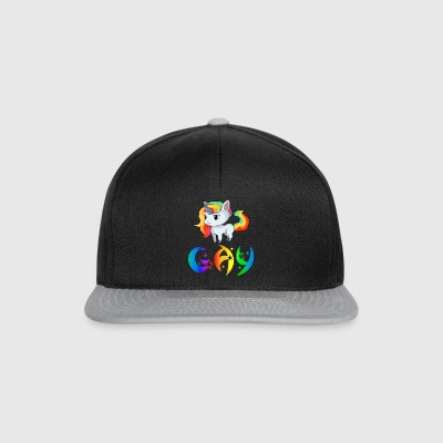 Unicorn Gay - Snapback Cap