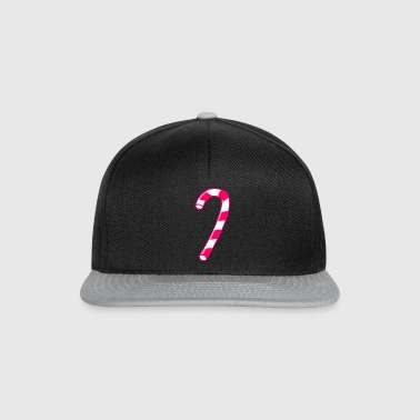 Candy Cane - Snapback Cap