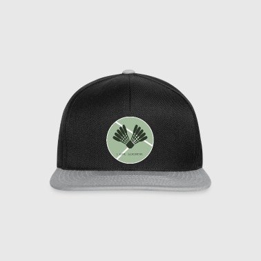 Badminton i love badminton Icon green - Snapback Cap