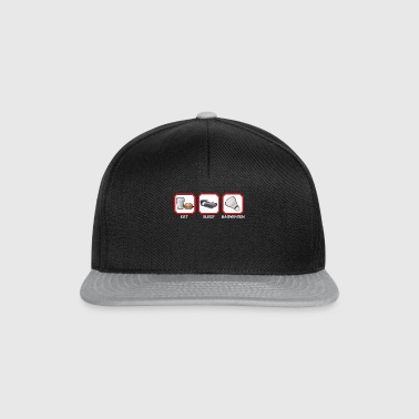 EAT SLEEP BADMINTON - Casquette snapback