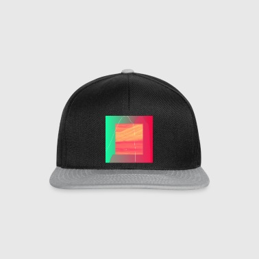 Illustration minimalistisk design - Snapbackkeps