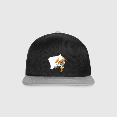 Cyprus fan dog - Snapback Cap