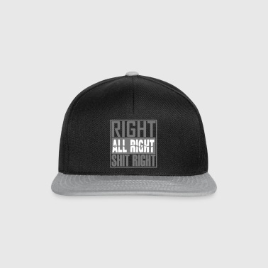 right - Snapback Cap