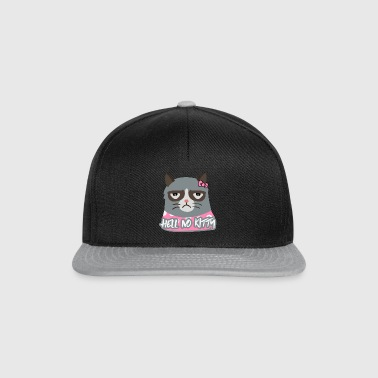 Hell No Kitty - Casquette snapback