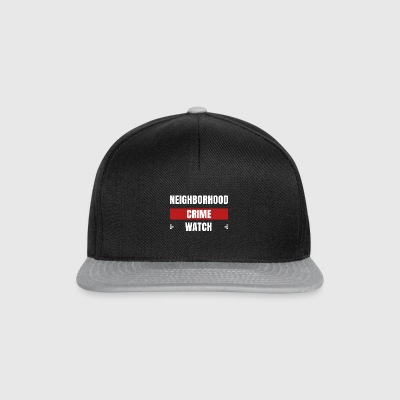 Neighborhood Crime Watch - Snapback Cap