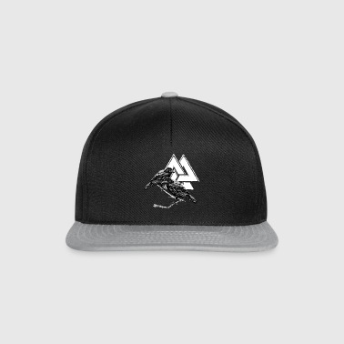 Hugin Munin! Odin! Viking! Vikings! - Snapback Cap