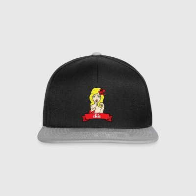 Pin-Up Girl / Rockabilly / 50s: Chic - Snapback Cap