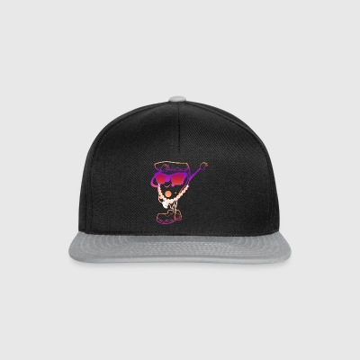 Dab Pizza gift deppen Liefde Cool Swag Dabb - Snapback cap