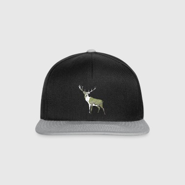 polygone cerf - Casquette snapback