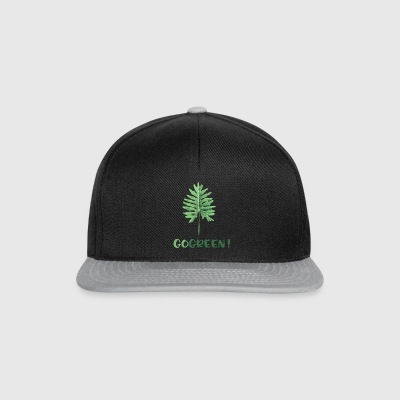 GO GREEN! - Snapback-caps
