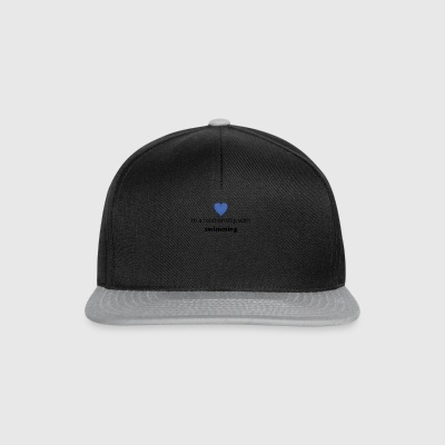 gift single taken relationship with swimming - Snapback Cap