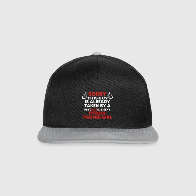 GIFT SORRY THIS GUY TAKEN FITNESS COACH GIRL - Snapback Cap