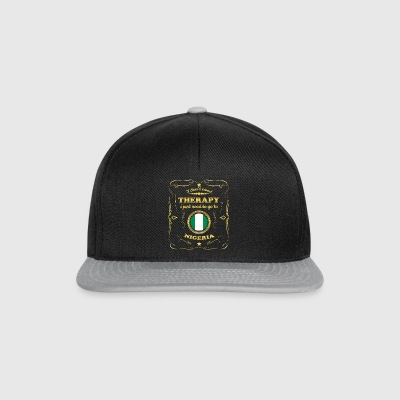 DON T NEED THERAPY GO TO NIGERIA - Snapback Cap