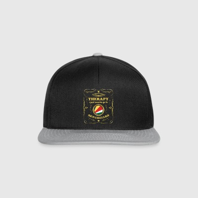 DON T NEED THERAPIE GO TO SEYCHELLES - Snapback Cap