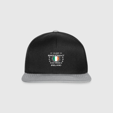 I AM GENIUS CLEVER BRILLIANT IRELAND - Snapback Cap