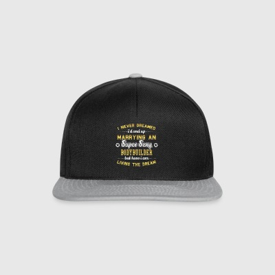 MARIER WIFE husand SUPER SEXY BODYBUILDER - Casquette snapback