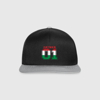 Father father dad 01 queen Hungary - Snapback Cap