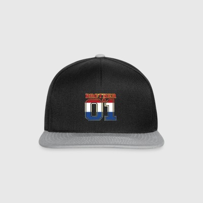king bruder brother 01 partner Niederlande - Snapback Cap