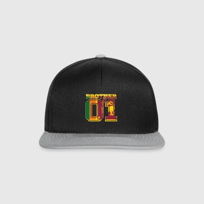 king bruder brother 01 partner Sri Lanka - Snapback Cap