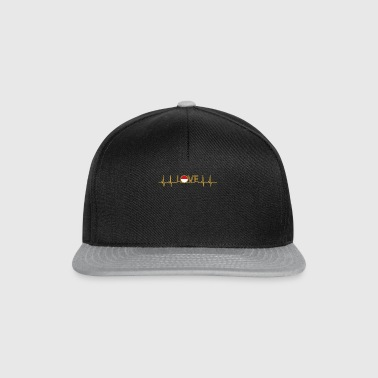 ekg love home heimat roots wurzlen Indonesien png - Snapback Cap